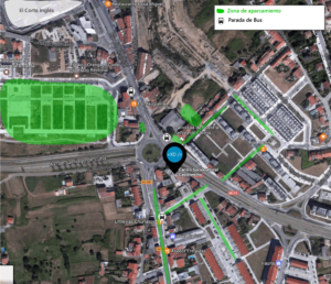 Mapa Centro Socio Cultural O Castiñeiriño