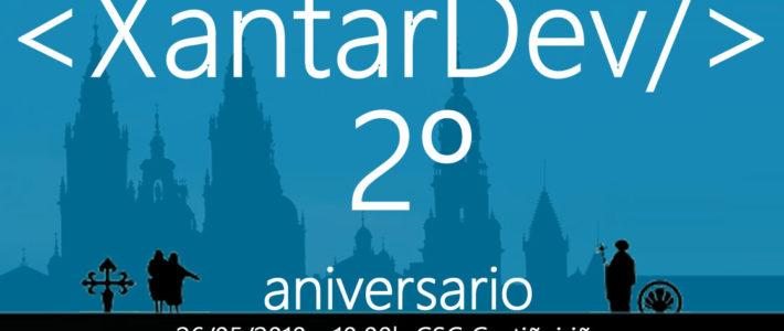 Poster 01 XantarDev Aniversario 2