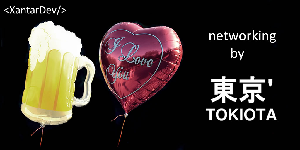Imagen de promocion del networking por Tokiota.
