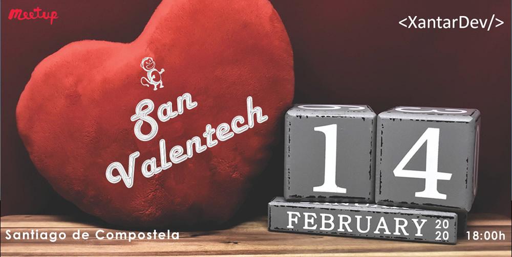 promo evento XantarDev 14 febrero - San Valentech